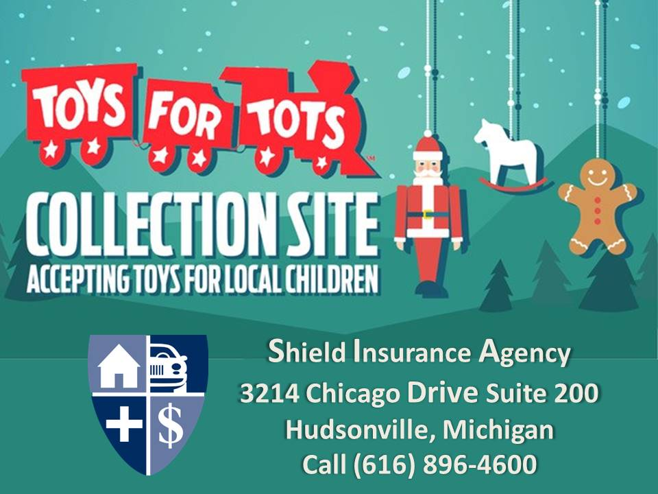Shield Insurance Agency Supports Toys For Tots
