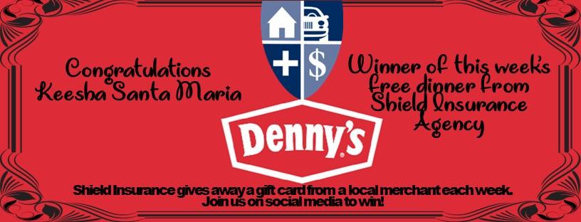 Dennys-dinner-on -shield-insurance-agency