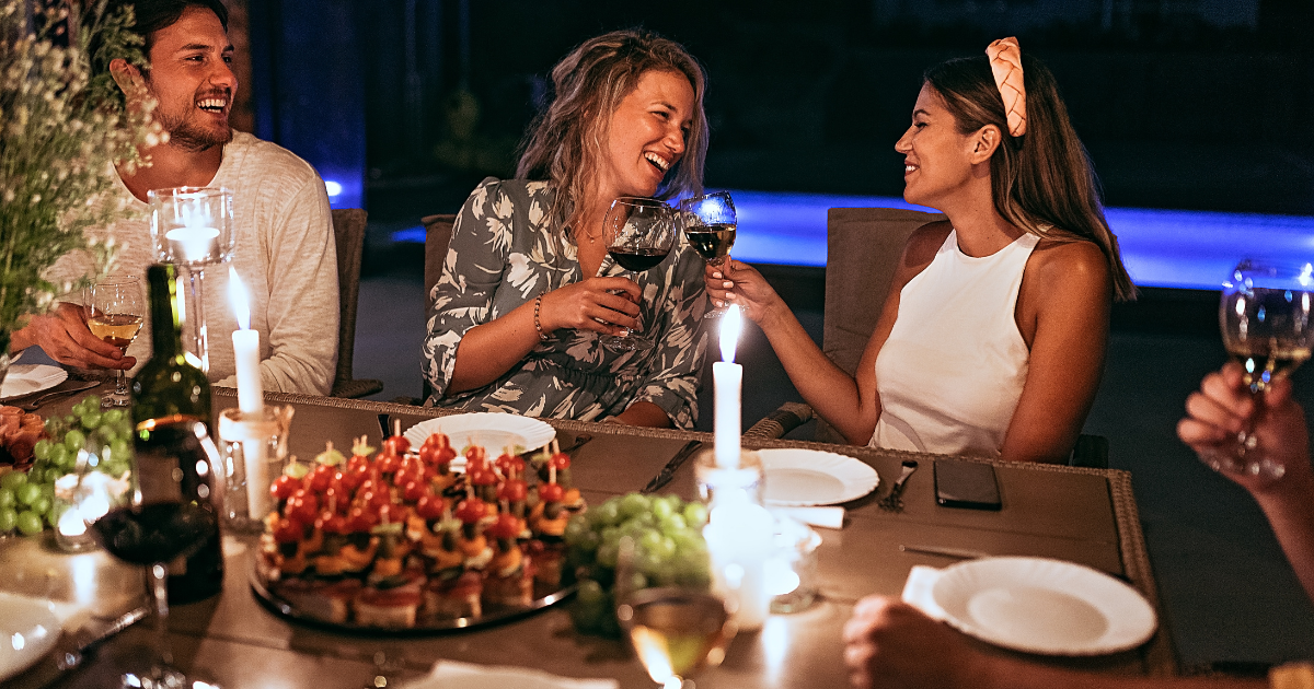How to transform your backyard into a restaurant - Shield Agency Insurance Blog