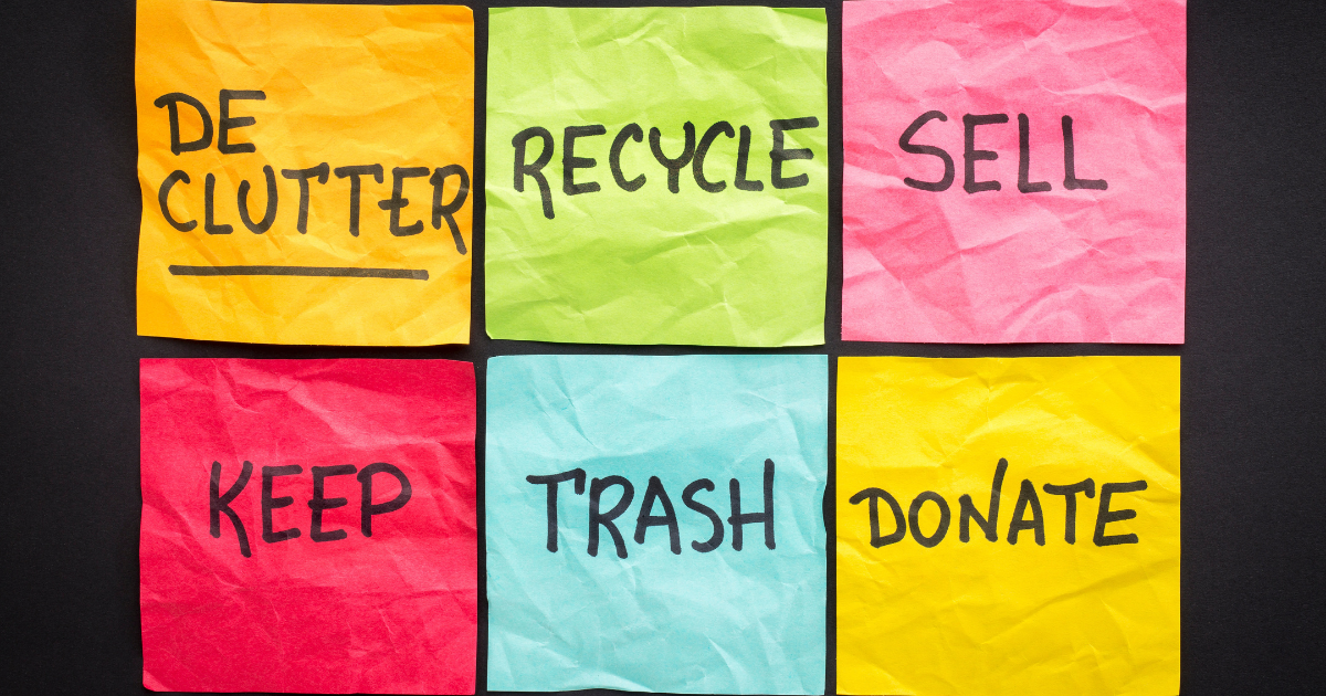 How to Get Rid of Stuff at Home - Shield Insurance Agency Blog