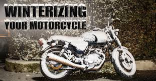 How To Winterize Your Motorcycle in 7 Simple Steps